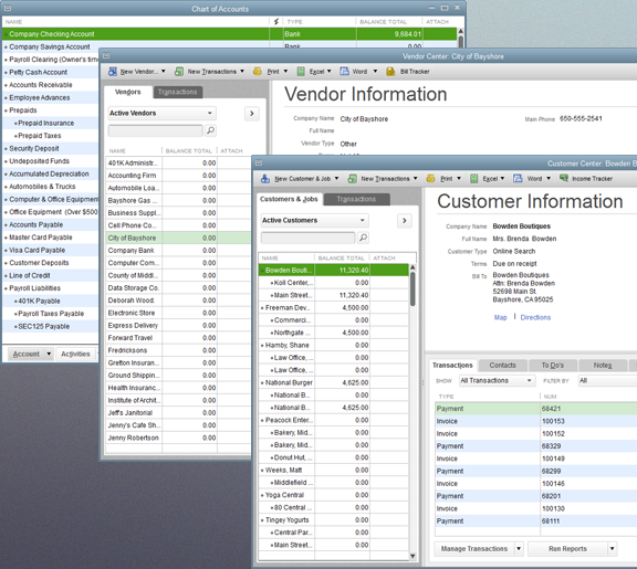 Enterprise to Pro to Quickbooks Lists Convresion